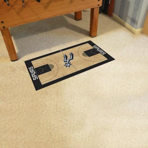San Antonio Spurs NBA Court Runner Rug