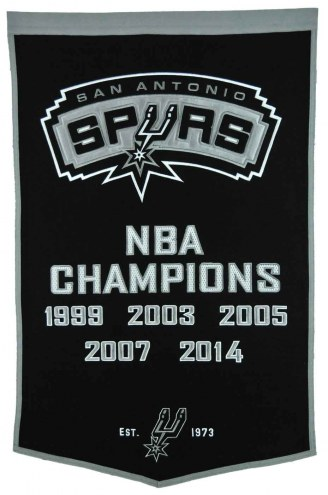 San Antonio Spurs NBA Dynasty Banner