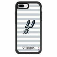 San Antonio Spurs OtterBox iPhone 8 Plus/7 Plus Symmetry Stripes Case