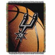 San Antonio Spurs Photo Real Throw Blanket
