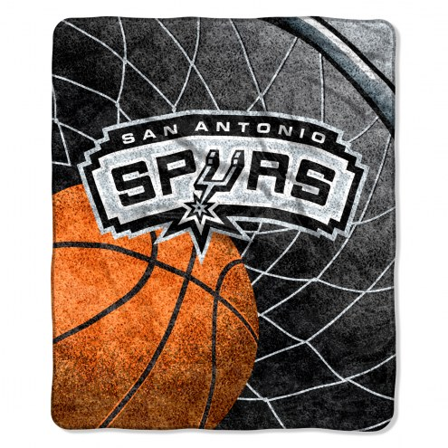 San Antonio Spurs Reflect Sherpa Blanket