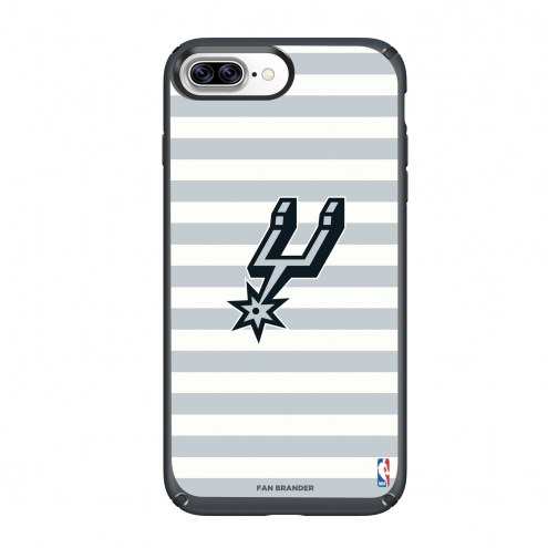San Antonio Spurs Speck iPhone 8 Plus/7 Plus Presidio Stripes Case