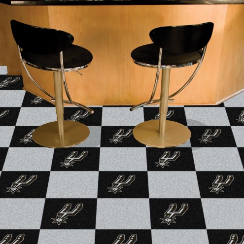 San Antonio Spurs Team Carpet Tiles