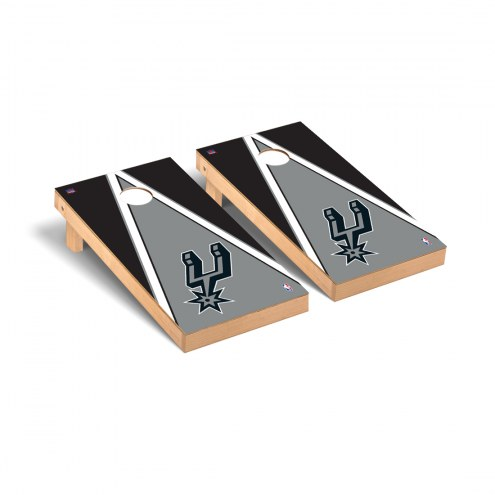San Antonio Spurs Triangle Cornhole Game Set