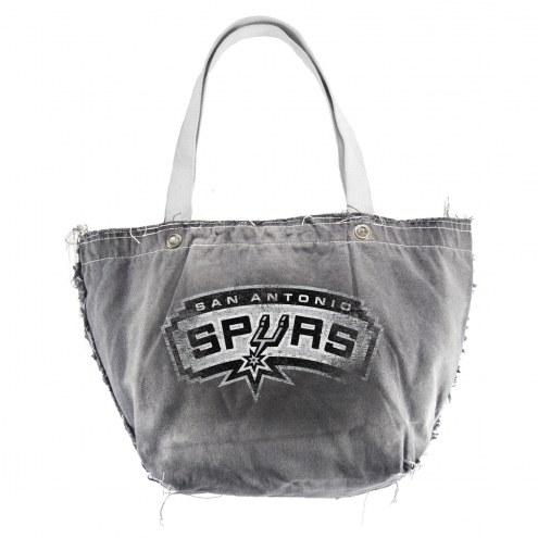 San Antonio Spurs Vintage Tote Bag
