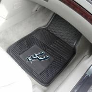 San Antonio Spurs Vinyl 2-Piece Car Floor Mats