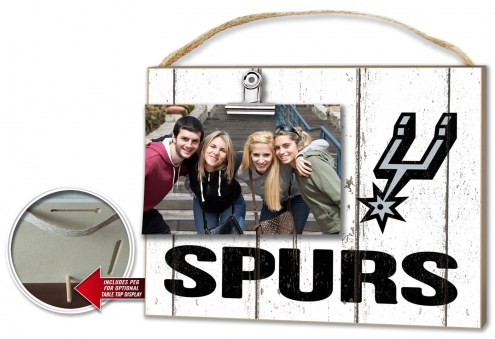 San Antonio Spurs Weathered Logo Photo Frame