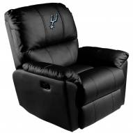 San Antonio Spurs XZipit Rocker Recliner with Primary Logo