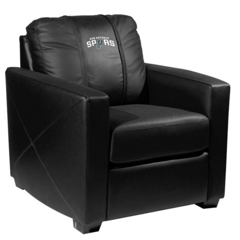 San Antonio Spurs XZipit Silver Club Chair