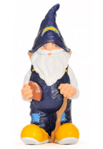 """San Diego Chargers 11"""""""" Garden Gnome"""