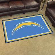 San Diego Chargers 4' x 6' Area Rug
