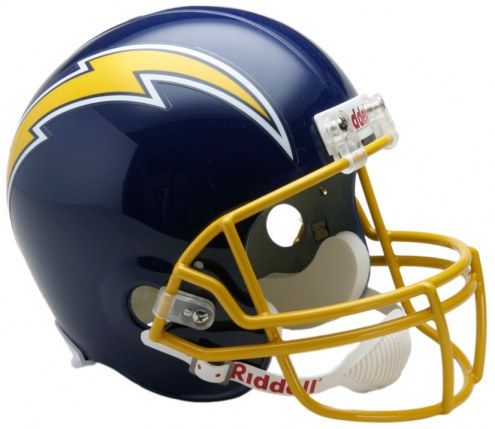 San Diego Chargers 74-87 Riddell VSR4 Collectible Full Size Football Helmet
