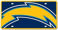 Los Angeles Chargers Acrylic Mega License Plate