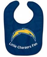 Los Angeles Chargers All Pro Little Fan Baby Bib
