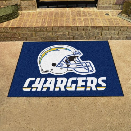 San Diego Chargers All-Star Mat