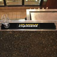 Los Angeles Chargers Bar Mat