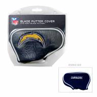 Los Angeles Chargers Blade Putter Headcover