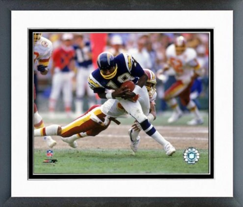 San Diego Chargers Charlie Joiner 1985 Action Framed Photo