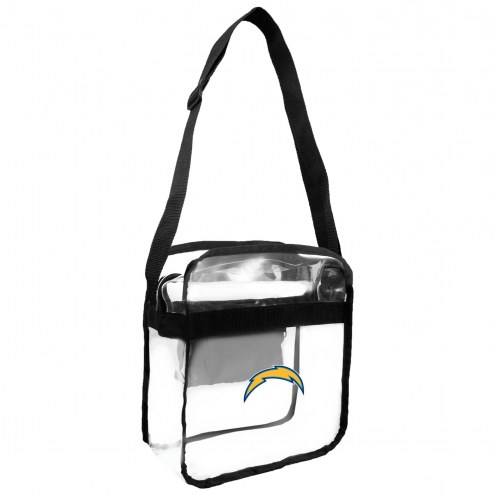 Los Angeles Chargers Clear Crossbody Carry-All Bag