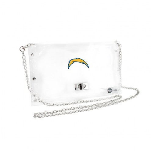 San Diego Chargers Clear Envelope Purse