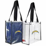Los Angeles Chargers Convertible Clear Tote