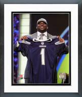 San Diego Chargers Corey Liuget NFL Draft #18 Pick Framed Photo