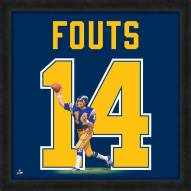 San Diego Chargers Dan Fouts Uniframe Framed Jersey Photo