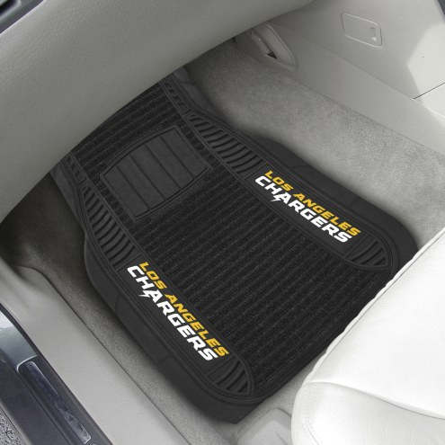 San Diego Chargers Deluxe Car Floor Mat Set