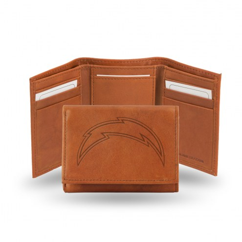 Los Angeles Chargers Embossed Tri-Fold Wallet