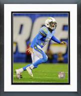 San Diego Chargers Eric Weddle Action Framed Photo