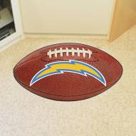 Los Angeles Chargers Football Floor Mat