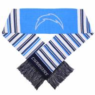 Los Angeles Chargers Glitter Stripe Scarf