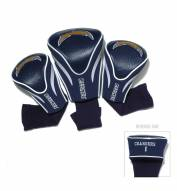 San Diego Chargers Golf Headcovers - 3 Pack