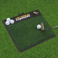 Los Angeles Chargers Golf Hitting Mat