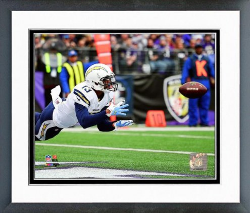 San Diego Chargers Keenan Allen Action Framed Photo