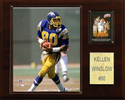 "San Diego Chargers Kellen Winslow 12 x 15"" Player Plaque"