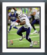 San Diego Chargers LaDainian Tomlinson 2007 Playoff Game Action Framed Photo