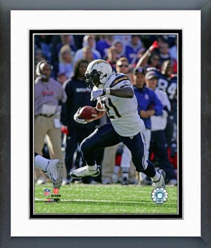 San Diego Chargers LaDainian Tomlinson 2008 Action Framed Photo