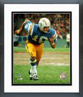 San Diego Chargers Lance Alworth Running Framed Photo