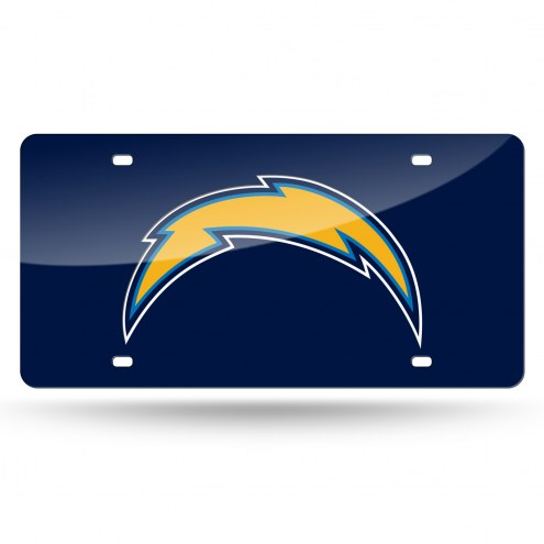 Los Angeles Chargers Laser Cut License Plate