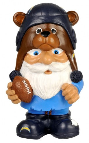 Los Angeles Chargers Mad Hatter Garden Gnome