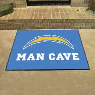 Los Angeles Chargers Man Cave All-Star Rug