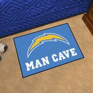 Los Angeles Chargers Man Cave Starter Mat