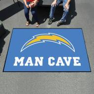 Los Angeles Chargers Man Cave Ulti-Mat Rug