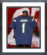 San Diego Chargers Melvin Gordon NFL Draft #15 Pick Framed Photo