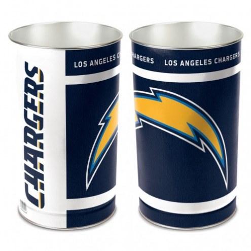 San Diego Chargers Metal Wastebasket