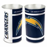 Los Angeles Chargers Metal Wastebasket