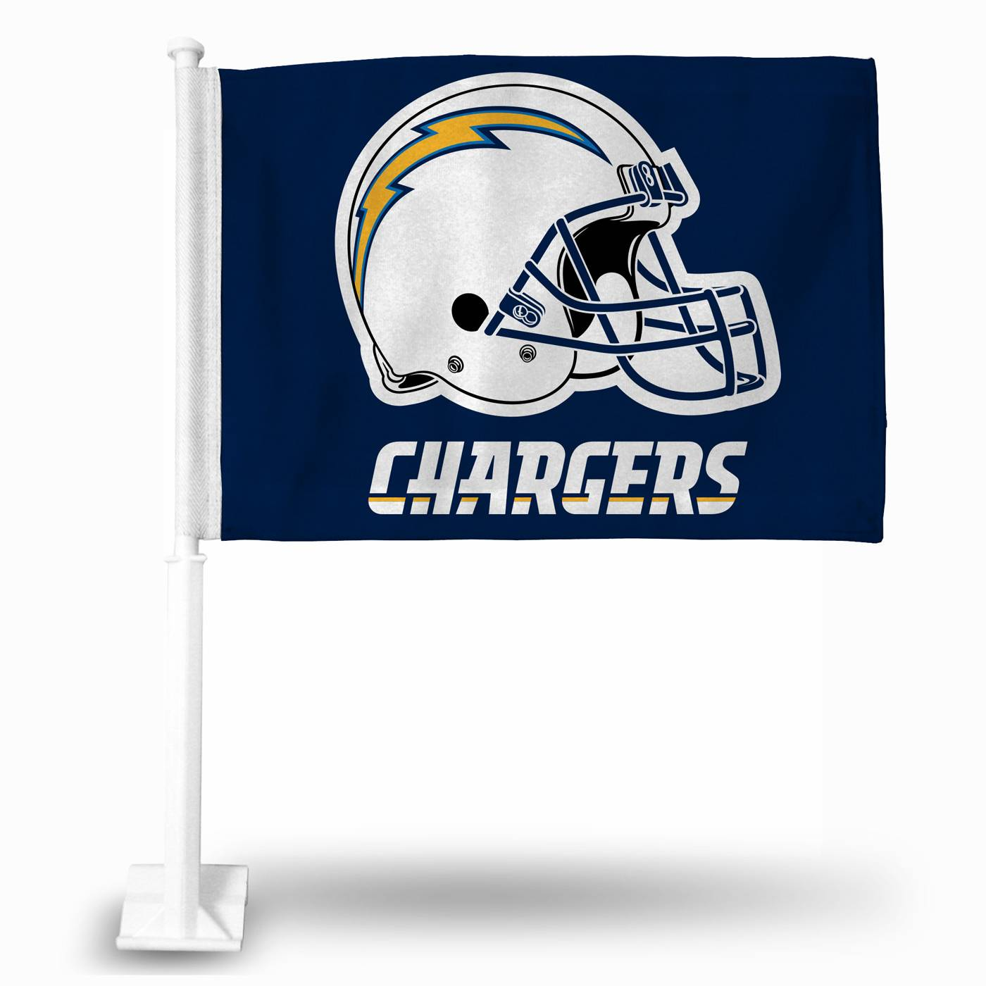 San Diego Chargers Car Accessories: San Diego Chargers NFL Car Flag