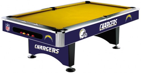 San Diego Chargers NFL Pool Table