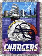 Los Angeles Chargers NFL Woven Tapestry Throw